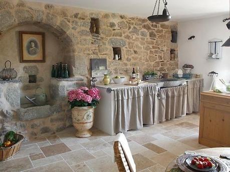 Stile Francese.. una casa da visitare | kitchens | Pinterest ...