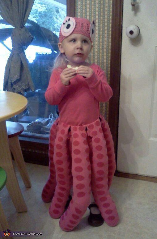 costume poulpe halloween pinterest kost m halloween kost m und halloween. Black Bedroom Furniture Sets. Home Design Ideas