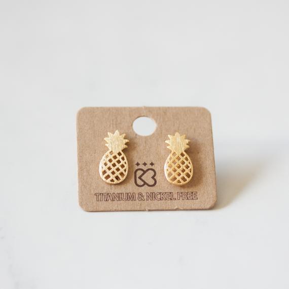 Pineapple - Earrings