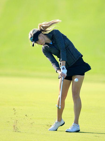 Paige Spiranac Photos Photos - Omega Dubai Ladies Masters - Day One - Zimbio