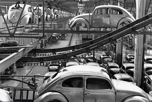 Línea de montaje c 1955