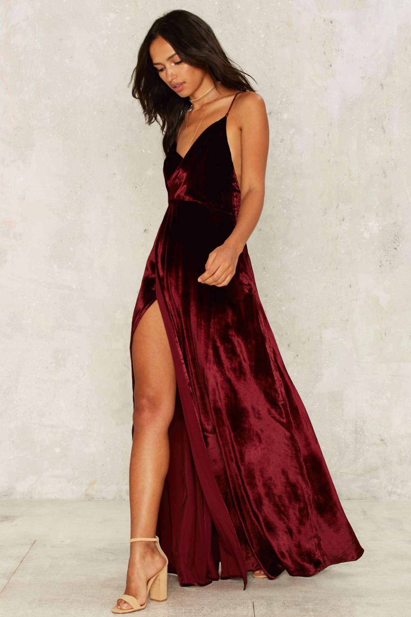 4e5c882c60cc5 The Jetset Diaries Callie Velvet Maxi Dress | Shop Clothes at Nasty Gal!