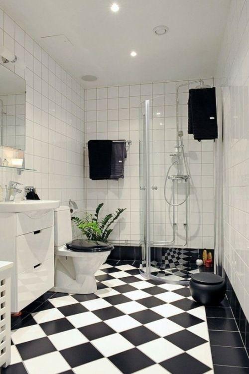 47 exemples de la salle de bains masculine et élégante | Carrelage ...