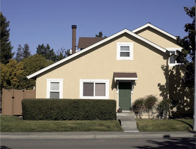 Kelly Moore Exterior HOA Color Scheme Paint Colors Doeskin Swiss Coffee Ca