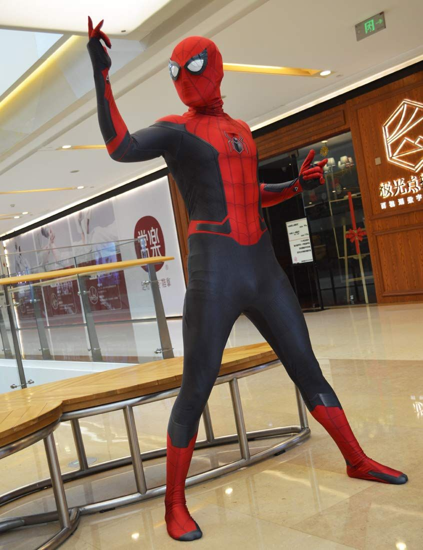 Far From Home 2019 Spiderman Costume Far From Home Spider Man Suit For Kids Cosplay Best Halloween Costume Ad C Spiderman Costume Kids Suits Spiderman Suits