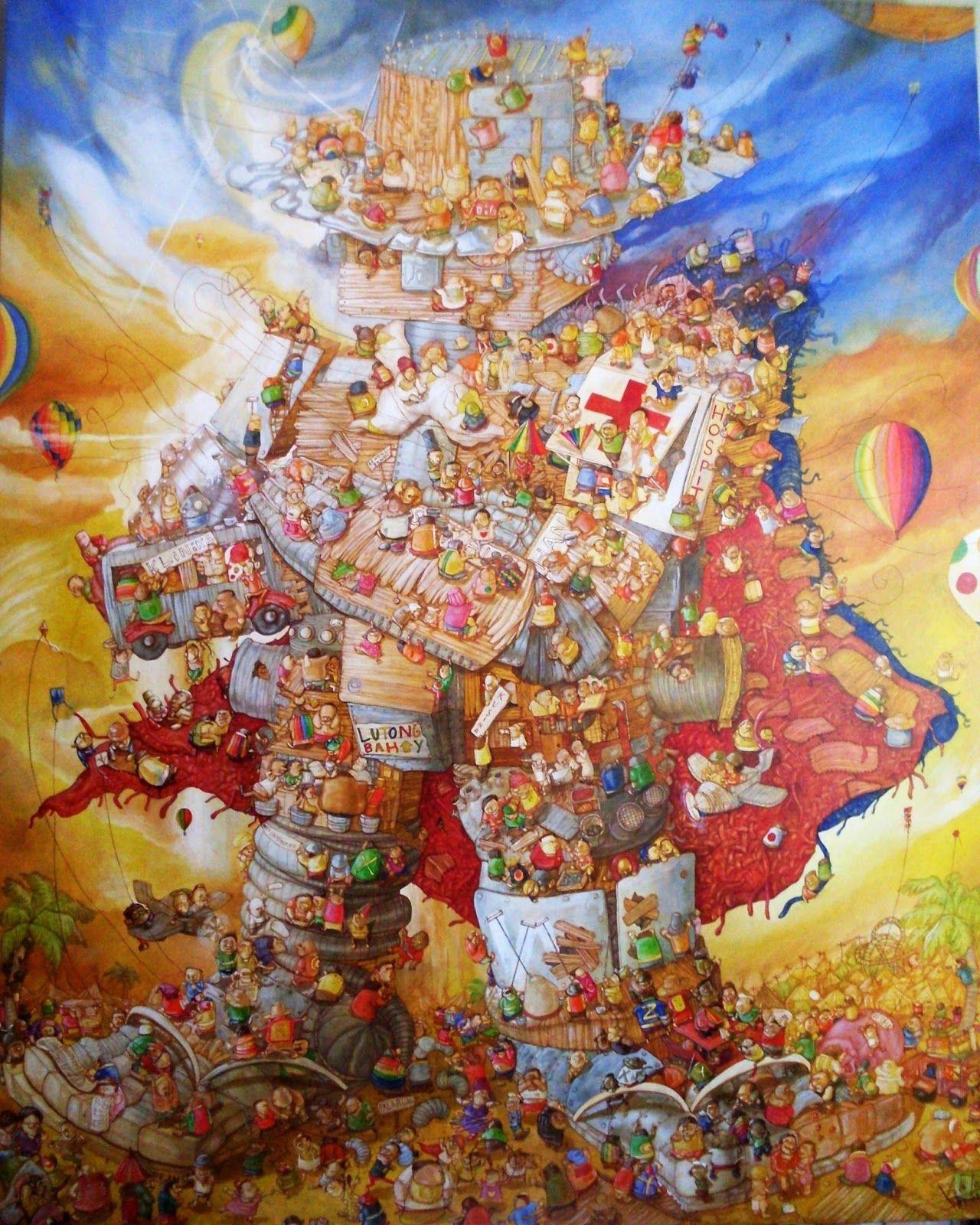 a blog about Philippine visual arts Visual art, Art, Art