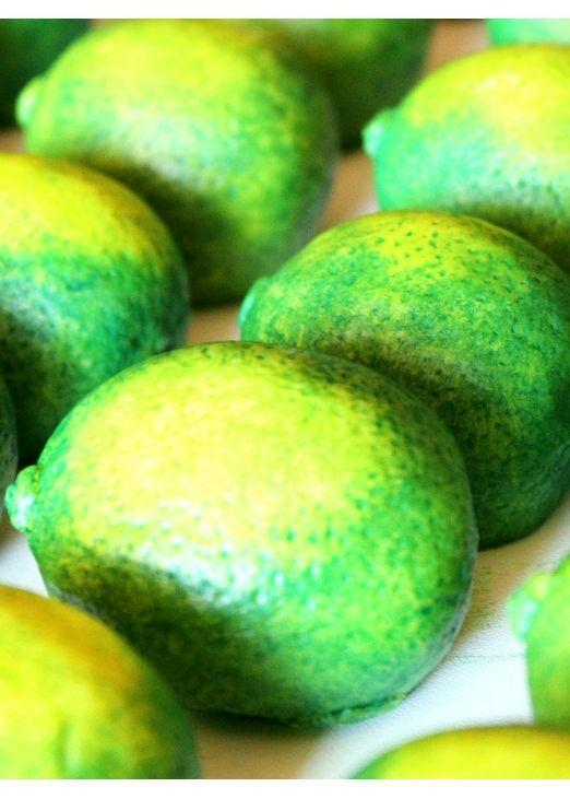 Sabonete em forma de Limão - Aromas & Cores
