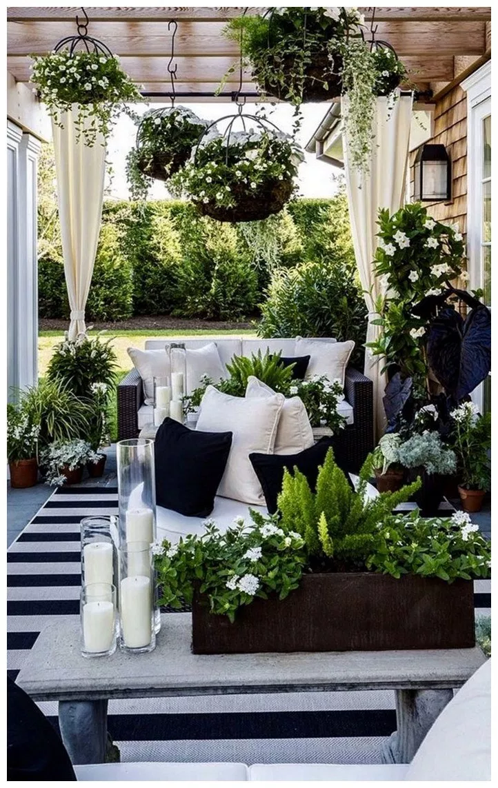 Piante Per Giardini Moderni ✓ 70 wonderful outdoor patio ideas 47 | arredamento