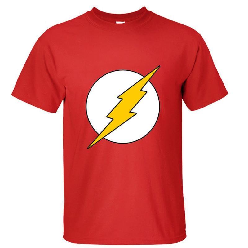 The Best Flash T Shirt Mens Childrens Classic Comic Super Hero Big Bang Theory Sheldon Be Friendly In Use T-shirts Men's Clothing