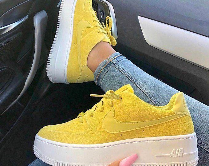 zapatillas amarillas mujer nike