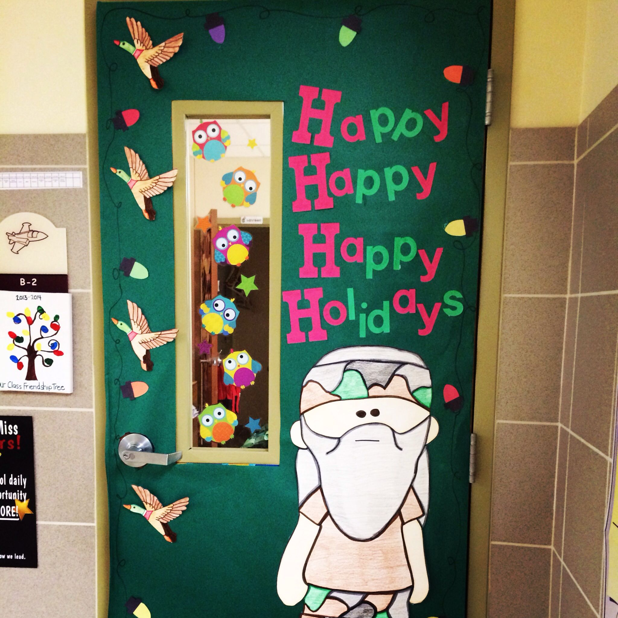 Duck Dynasty Holiday Door