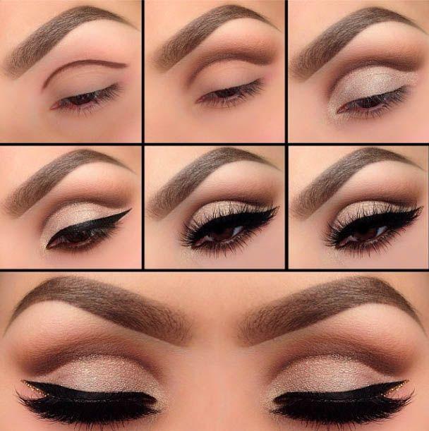 Aprende a aplicar de forma correcta sombras el eyeliner for Como se maquillan los ojos ahumados