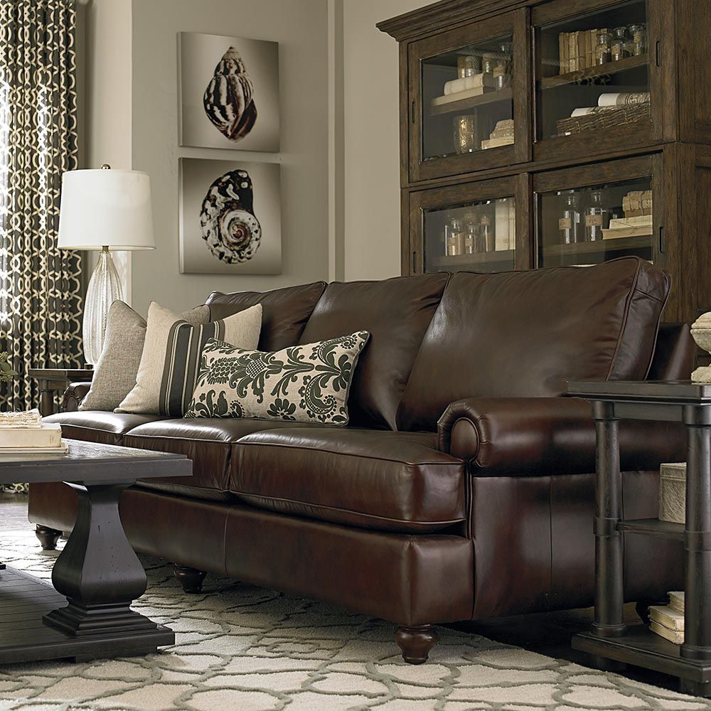 American Casual Montague Great Room Sofa  Stacked Books Room And Amazing Black Leather Living Room Furniture Review