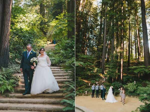 California Redwoods Wedding Redwood And Forest