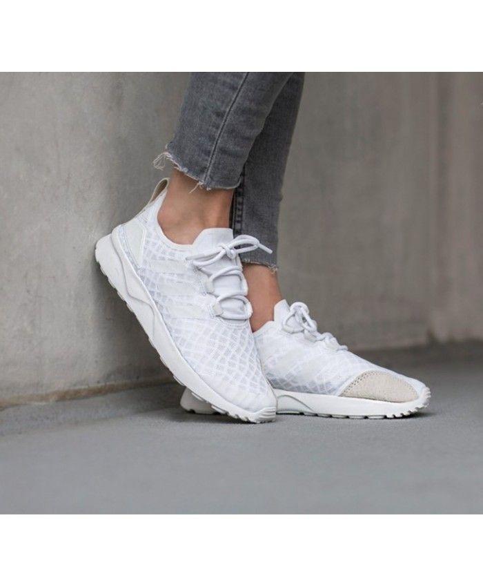 94f679632 Adidas Zx Flux Adv Verve Core White Womens Shoes