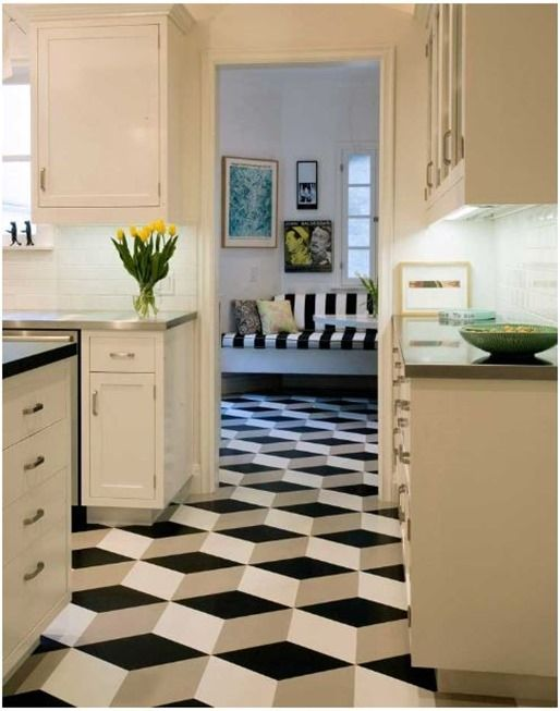 Centsational Girl » Blog Archive Pattern Files: Geometric Tile Floors »  Centsational Girl