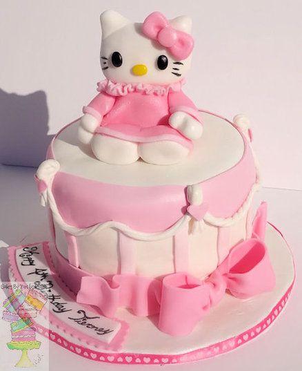 Cake Hello Kitty Pink : PINK HELLO KITTY Kiddies parties Pinterest Hello ...