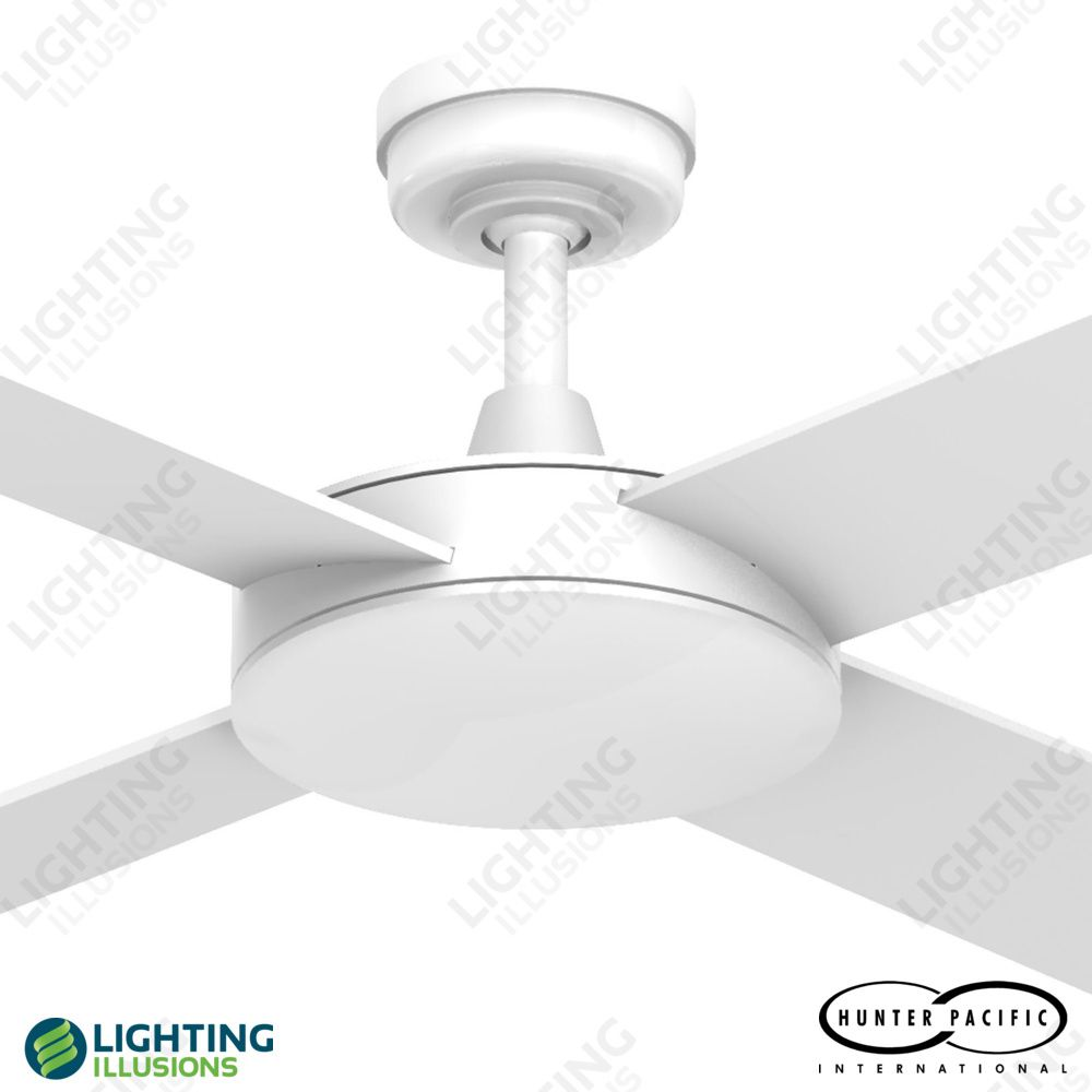 White intercept 2 timber bladed 52 ceiling fan hunter pacific white intercept 2 timber bladed 52 ceiling fan hunter pacific ceiling fans ceiling aloadofball Gallery