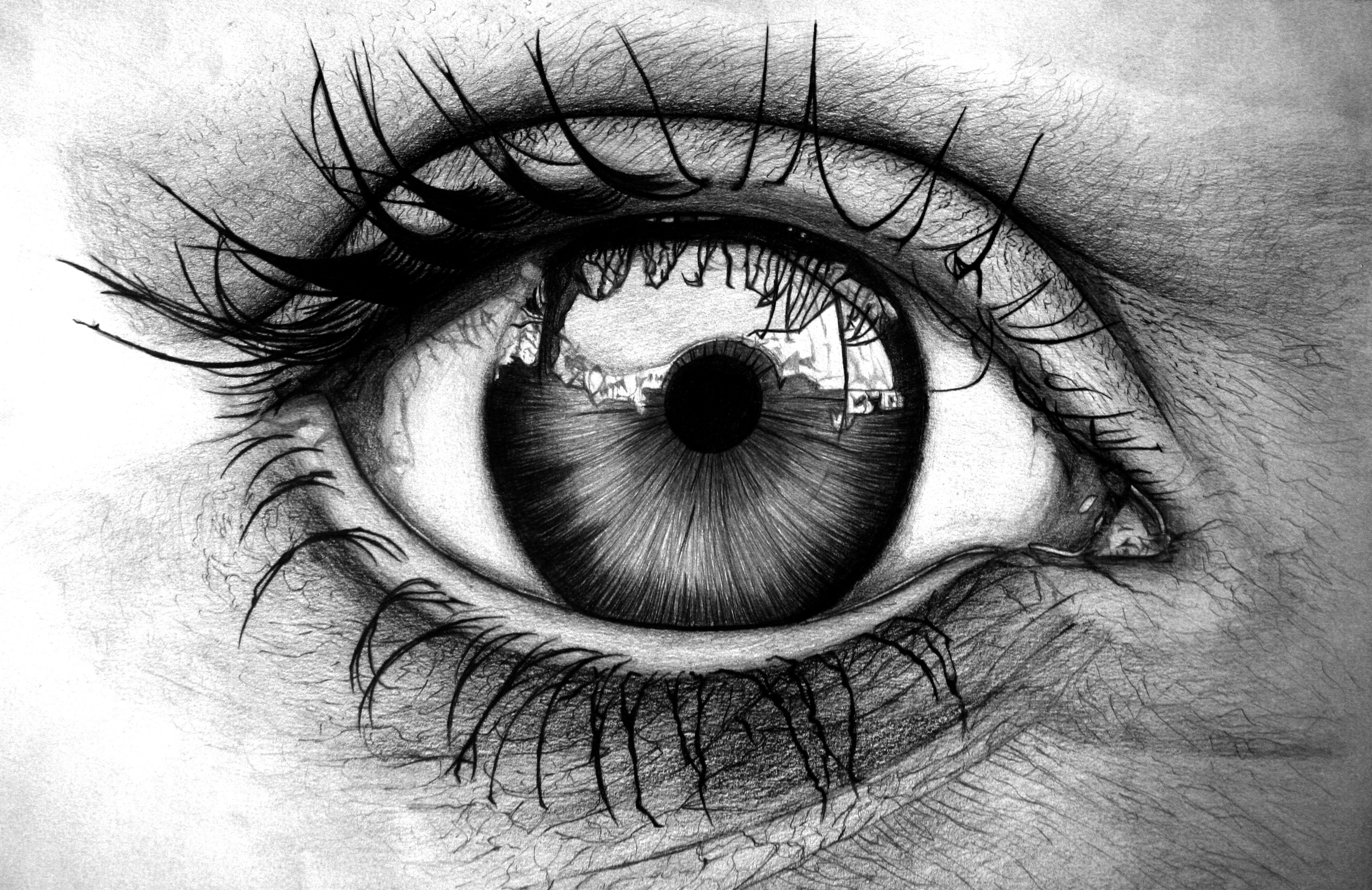Detailed eye Eye art, Eye drawing, Pencil art