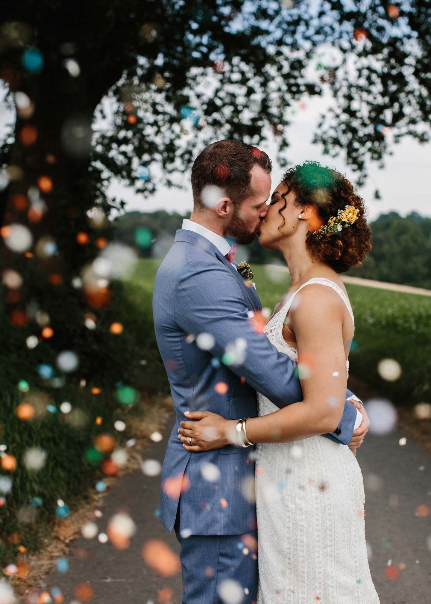 Joana & Mathes: Skandinavisch inspirierte Sommerhochzeit - Hochzeitswahn - Sei inspiriert