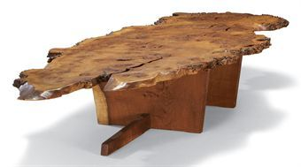 George Nakashima TABLE BASSE, VERS American Architect And Woodworker. One  Of The Leaders Of The Century Furniture Movement, And Fathered The American  Craft ...