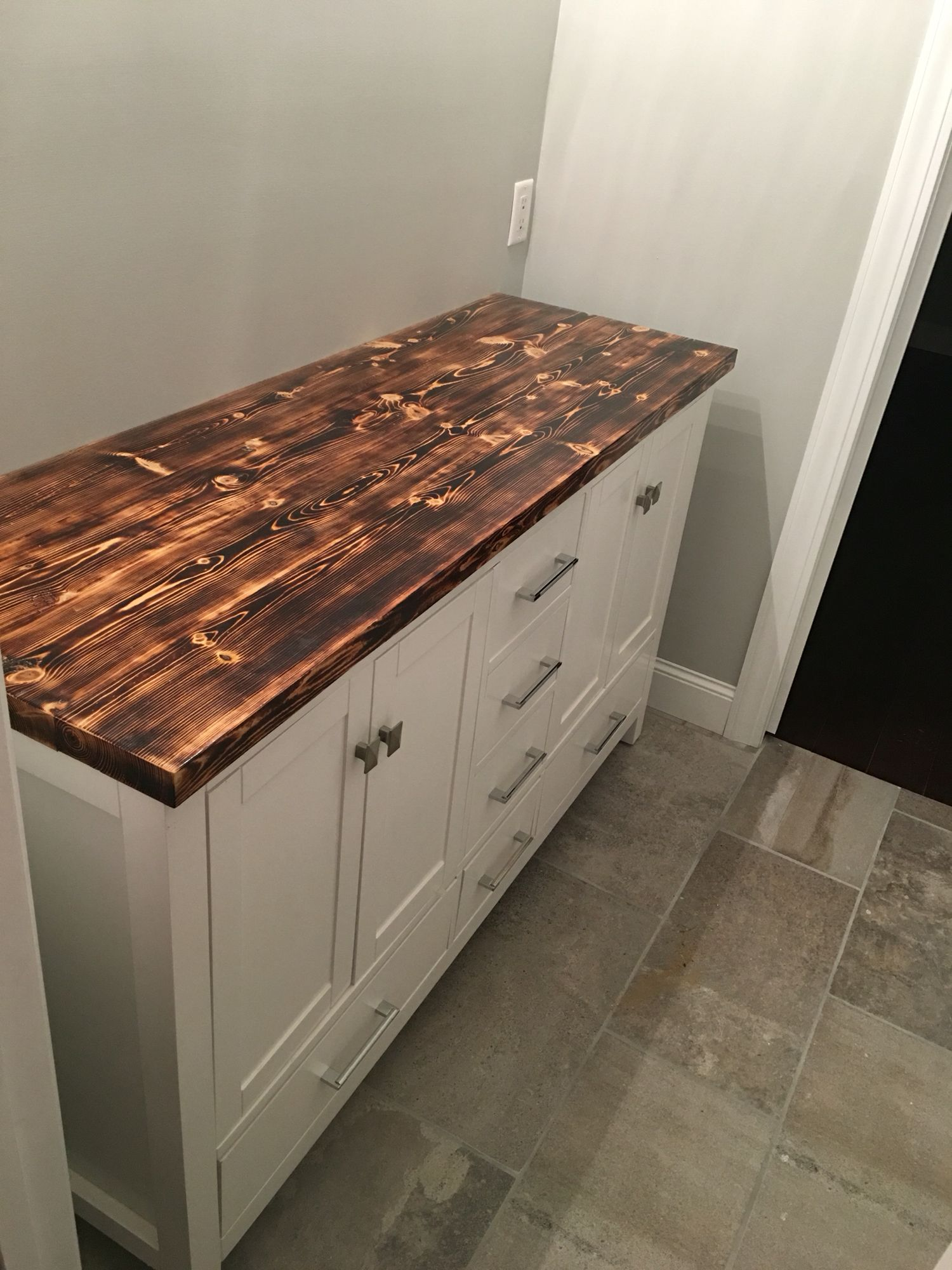 Homemade Counter Top Wood Countertops Kitchen Diy Wood