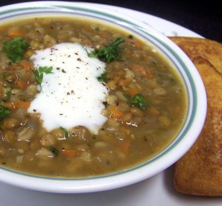 Barley lentil soup recipe lentils lentil soup recipes and meals barley lentil soup forumfinder Gallery