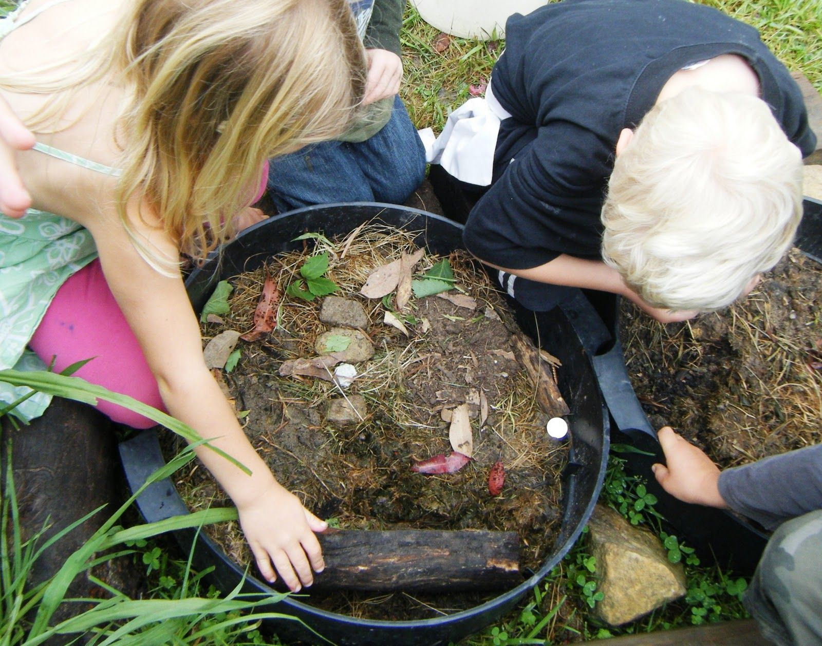 Let The Children Play Creating Insect Habitats For Bug Mad Preschoolers