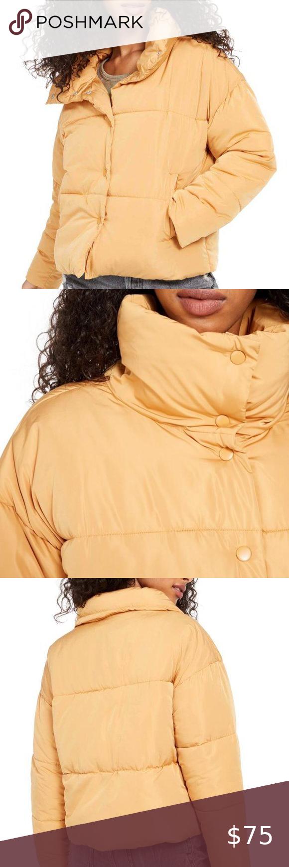 Free People Weekender Puffer Jacket In Bronze Nwt Women S Puffer Coats Coats Jackets Women Oversized Puffer Coat [ 1740 x 580 Pixel ]