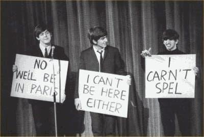 Definitive Proof The Beatles Were The Original Trolls The Beatles Beatles Funny Beatles Quotes