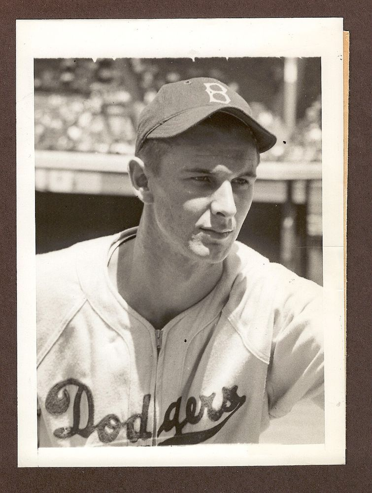 1946 Press Photo Howie Schultz of the Brooklyn Dodgers Head and ...
