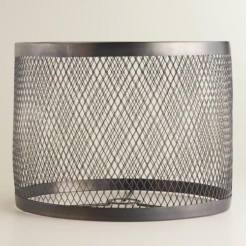Riveted Table Lamp Shade Industrial Lamp Shade Antique Lamp Shades Lamp Shade