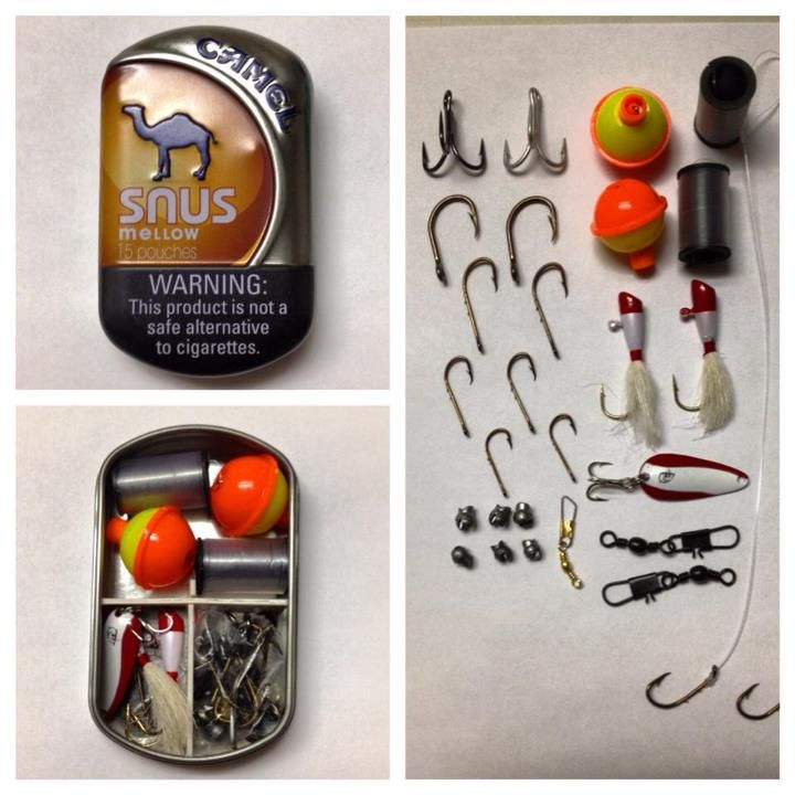 Emergency Fishing Kit Survival Fishing Kit Bug Out Pêche Kit