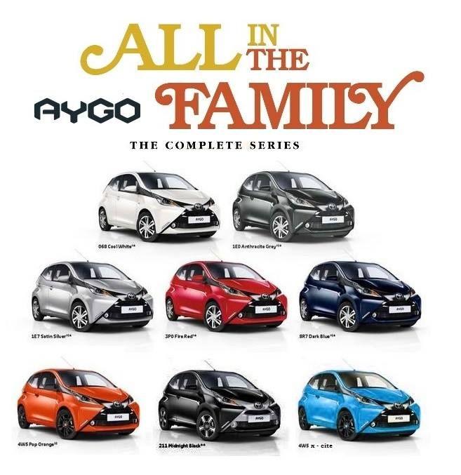 Facebook: Toyota Aygo 2014 Nederland