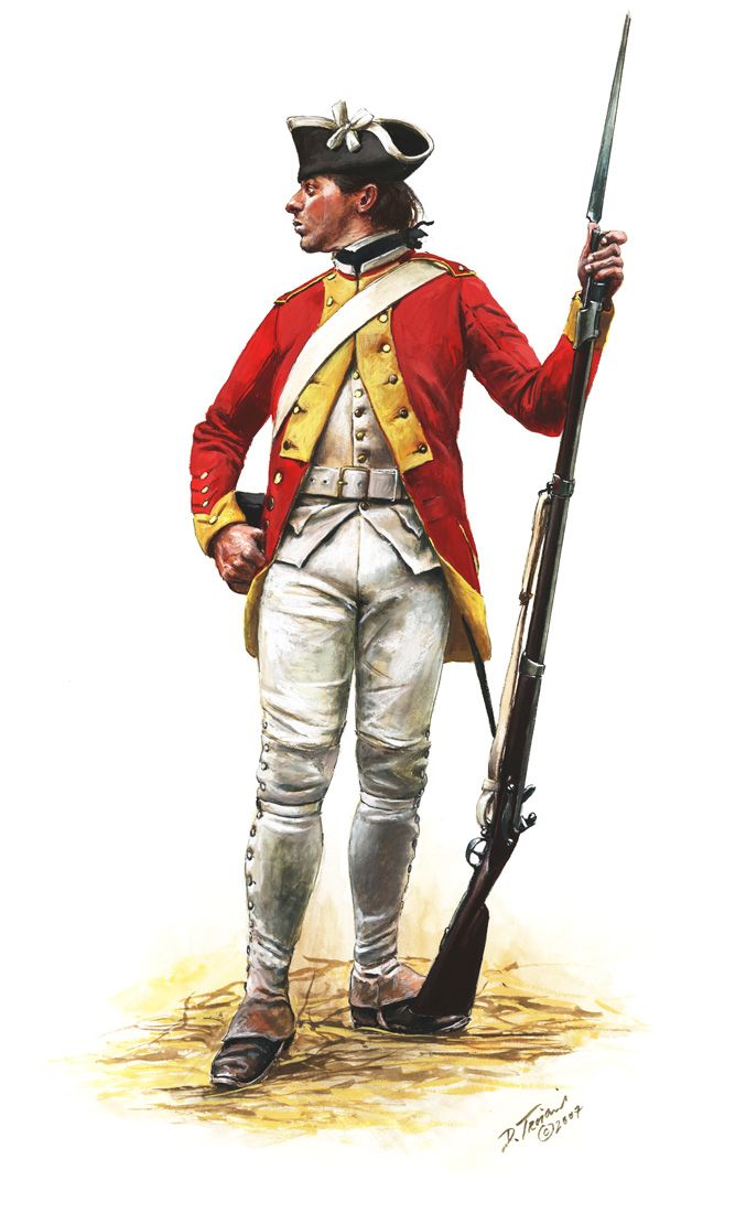 Fusilier Of The French Dillon Regiment 1780 By Don Troiani Www Dontroiani Com Armee Britannique Guerre De Secession Armee Francaise