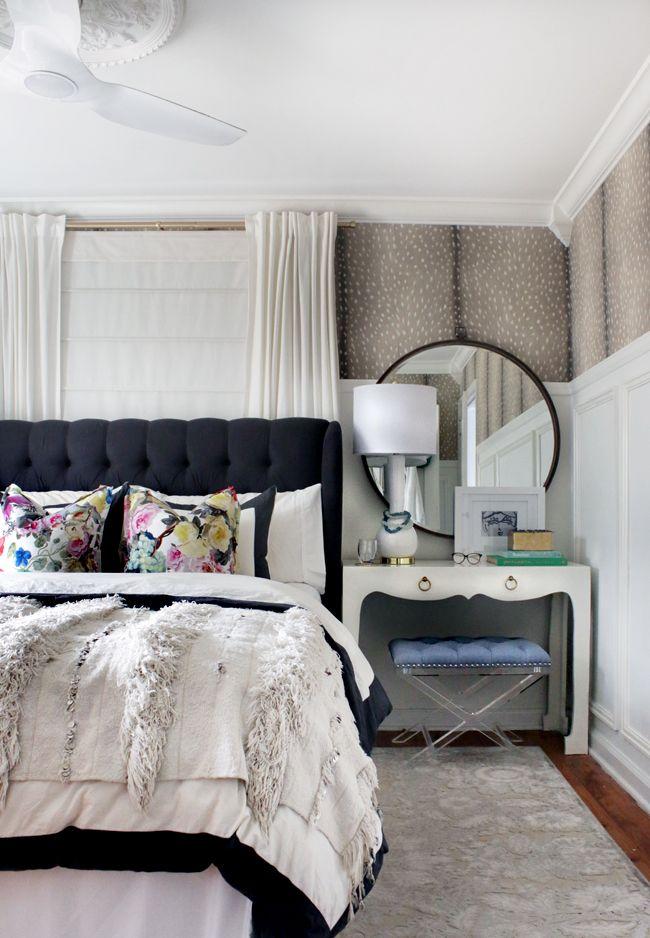 bedroom decor ceiling fan. BEDROOM UPDATES | Hunted Interior Bedroom Decor Ceiling Fan