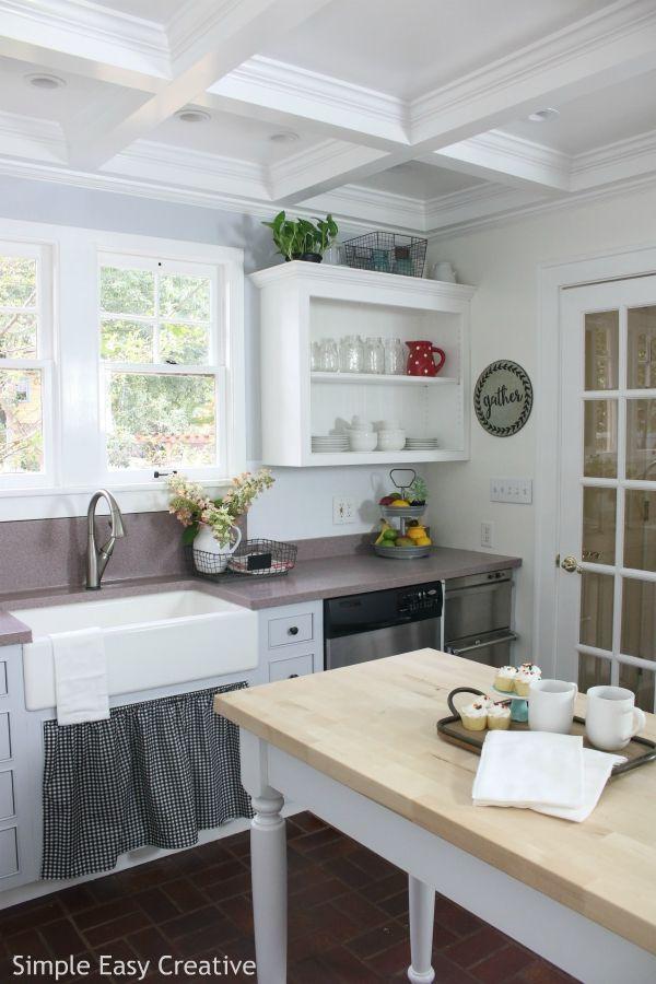 Bhg Kitchen Design Creative modern farmhouse kitchen makeover | bhg live better | pinterest