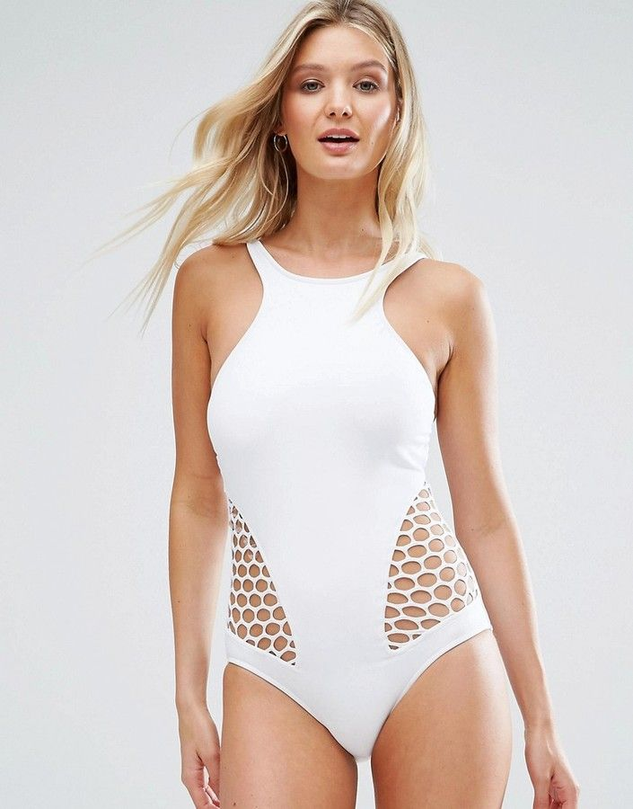 eb32b0b8315 Seafolly Mesh About Dd High Neck Maillot Swimsuit | Swimsuits in ...