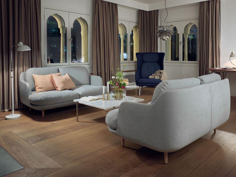 Fritz Hansen Lune Two Seater Sofa by Jaime Hayon - Chaplins ...