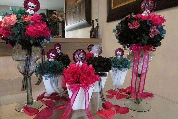 Kit Festa Pink Tiffany Preto I Com Imagens Tacas De Vidro