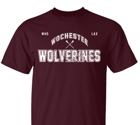 dc29f53d669 High School Impressions LA-003-W Custom Lacrosse Tees - Create your own  design for t-shirts