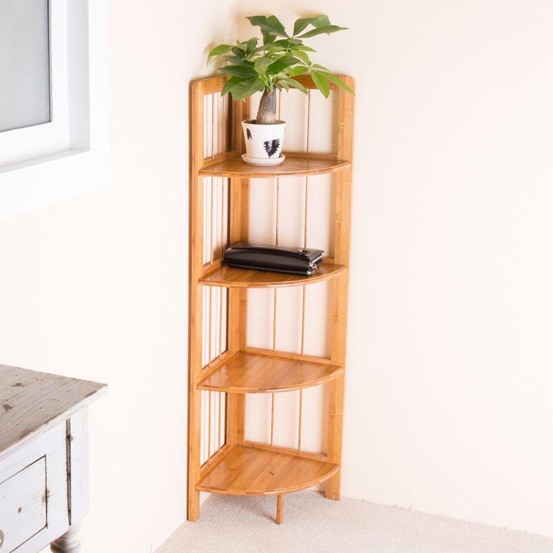 Bamboo Corner Shelves Google Search Shelves Corner Shelves Kitchen Storage Rack