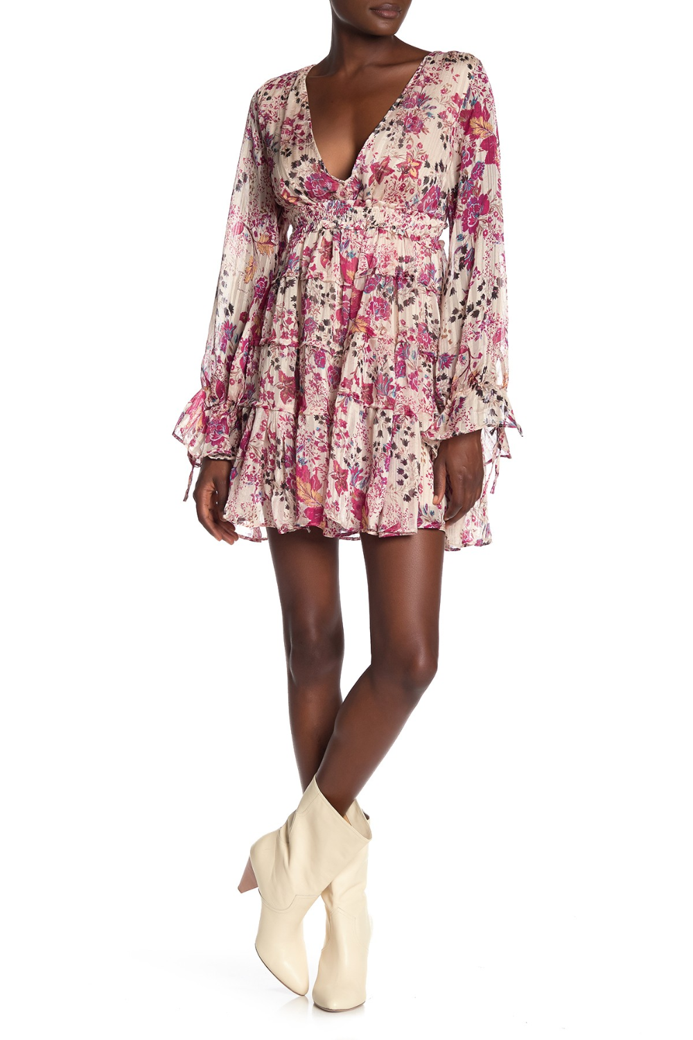 Free People Closer To The Heart Floral Mini Dress In 2020