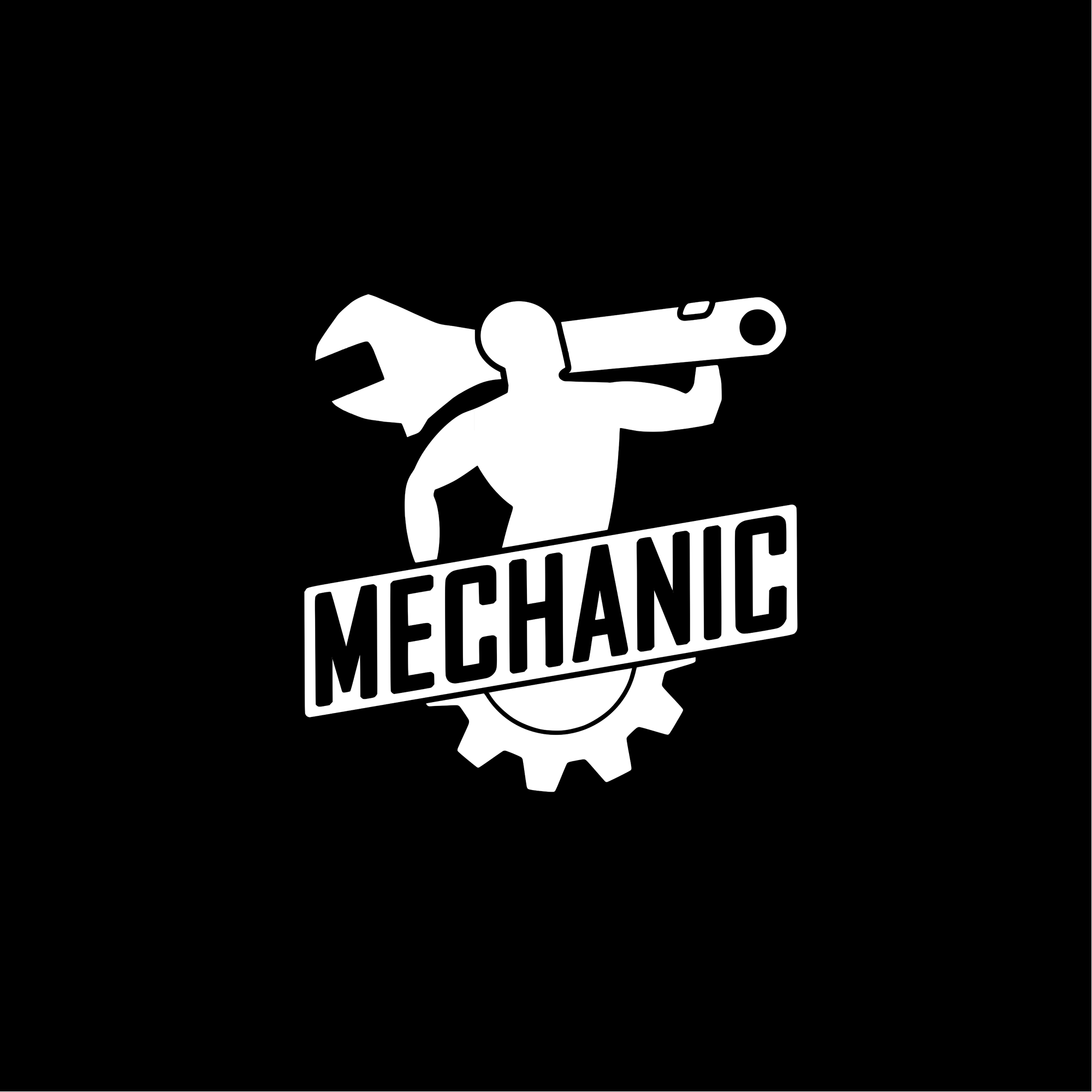 Mechanic logo design