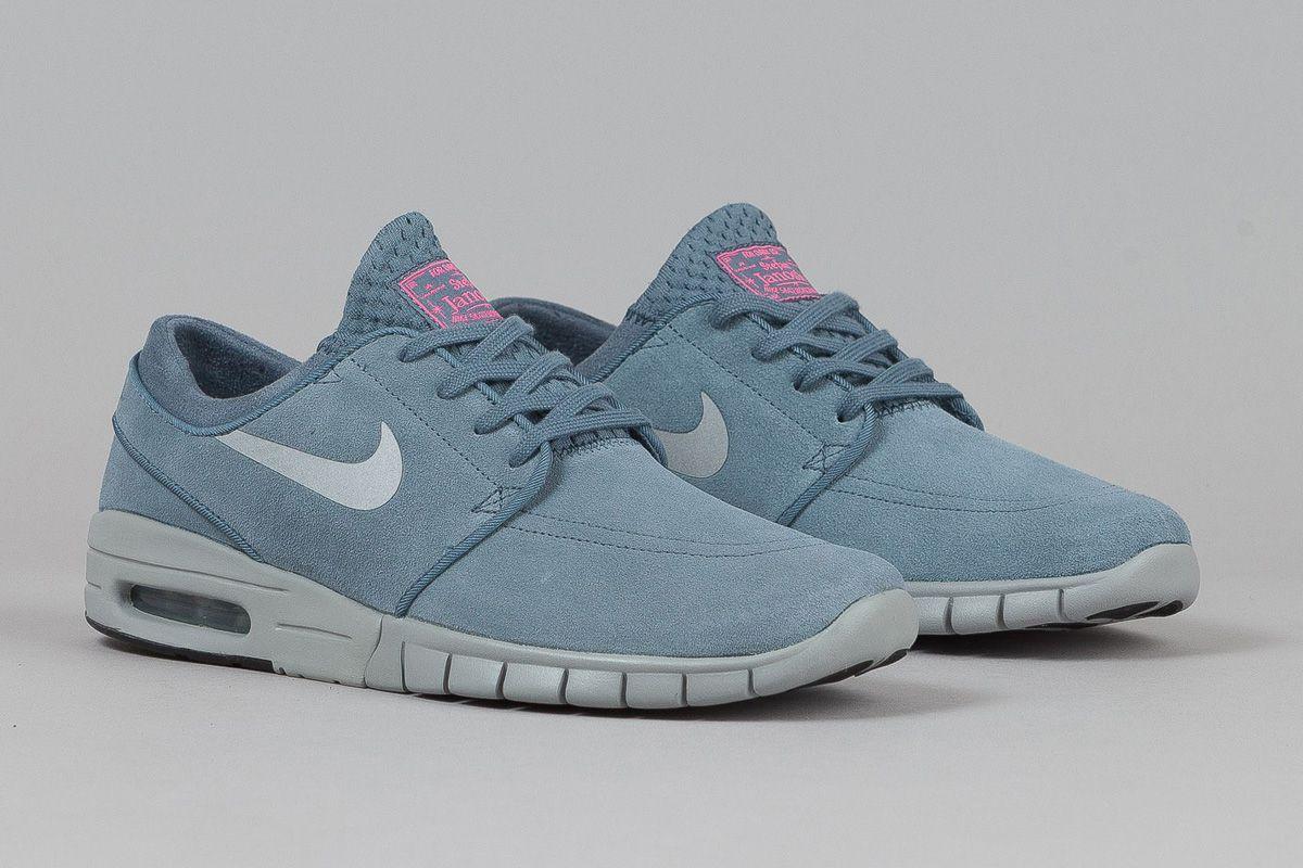 Nike Sb Janoski Max Blue Graphite
