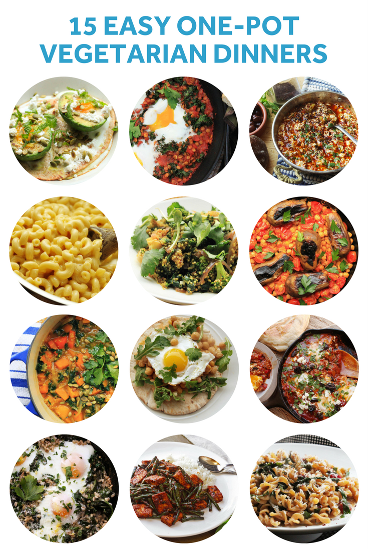One Pot Dinners Aren T Only For Meat Lovers Check Out These Amazing 15 One Pot Recipes For Vegetarians One Pot Vegetarian Vegetarian Vegetarian Dinners