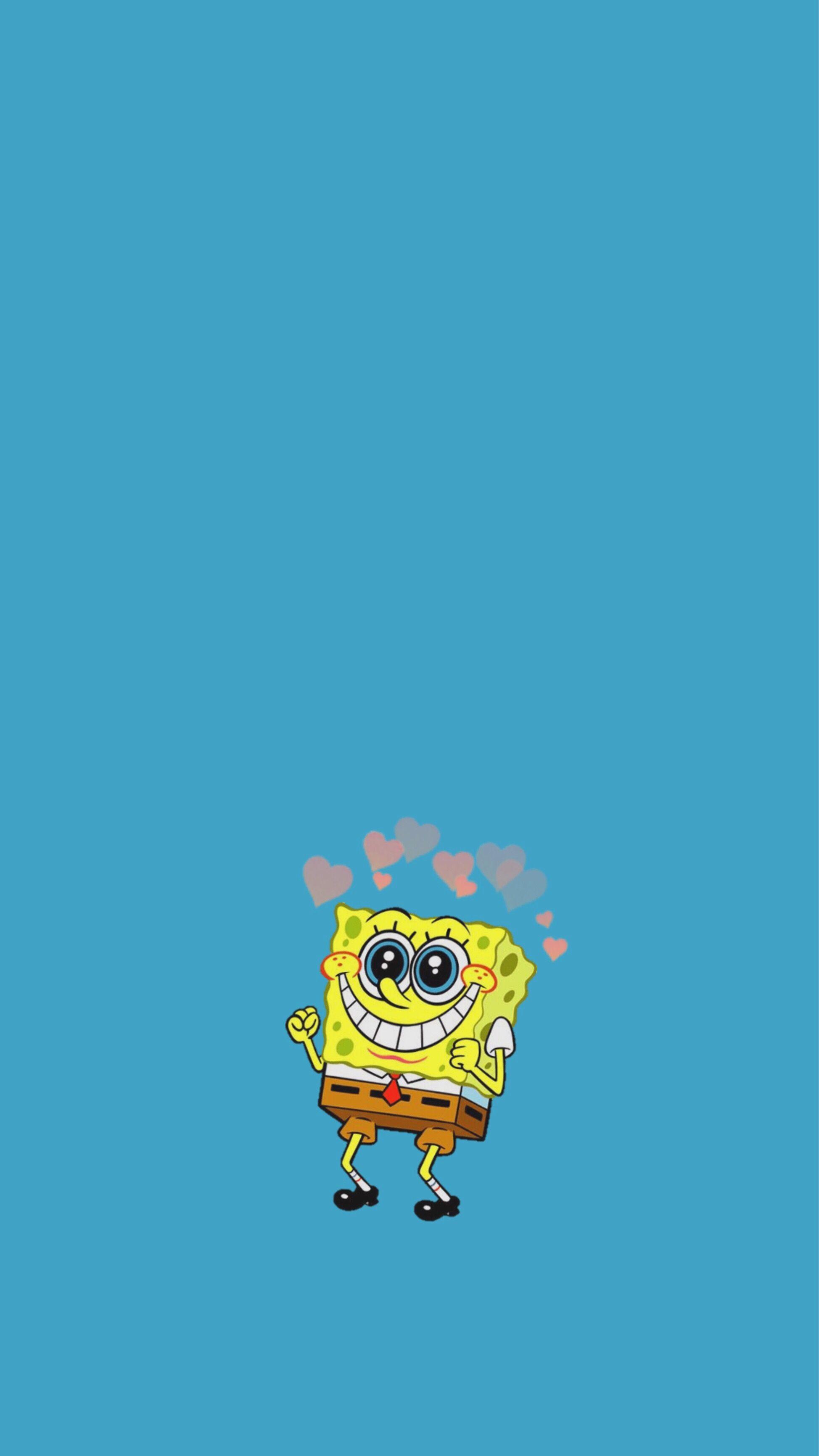 Spongebob Squarepants Aesthetic Wallpaper