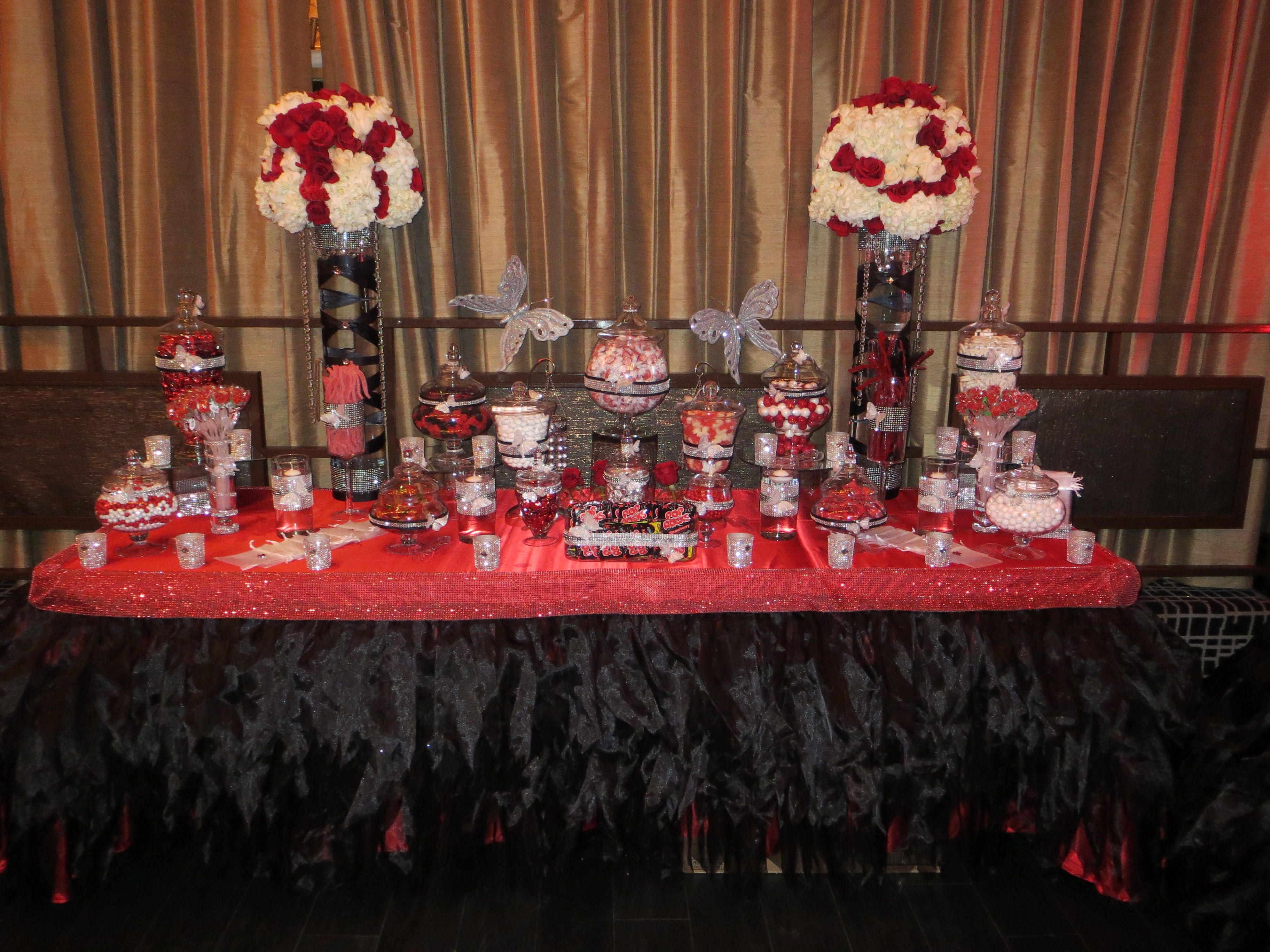 Centerpieces & candy station