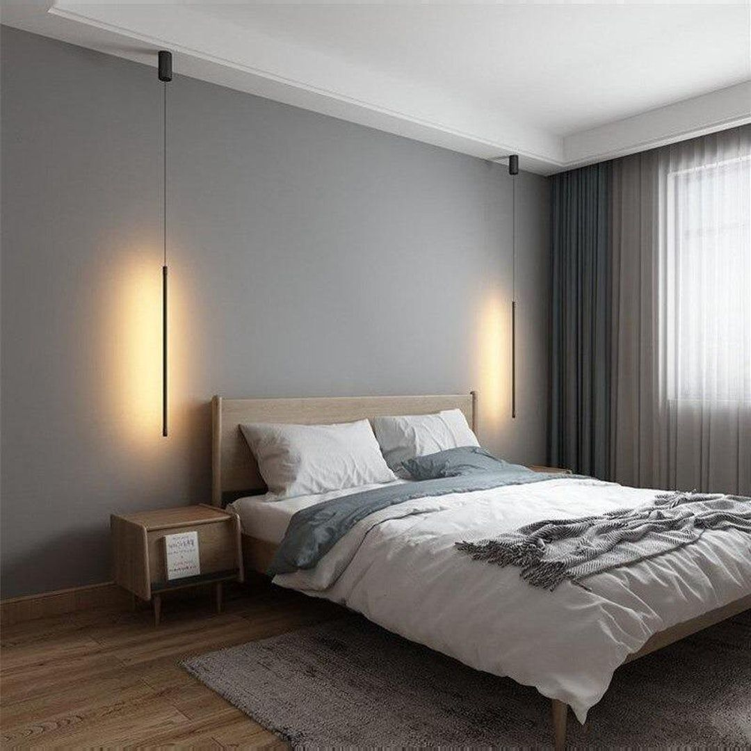 Ulrika Modern Nordic Hanging Pendant Light In 2021 Modern Bedroom Interior Design Bedroom Living Room Lighting