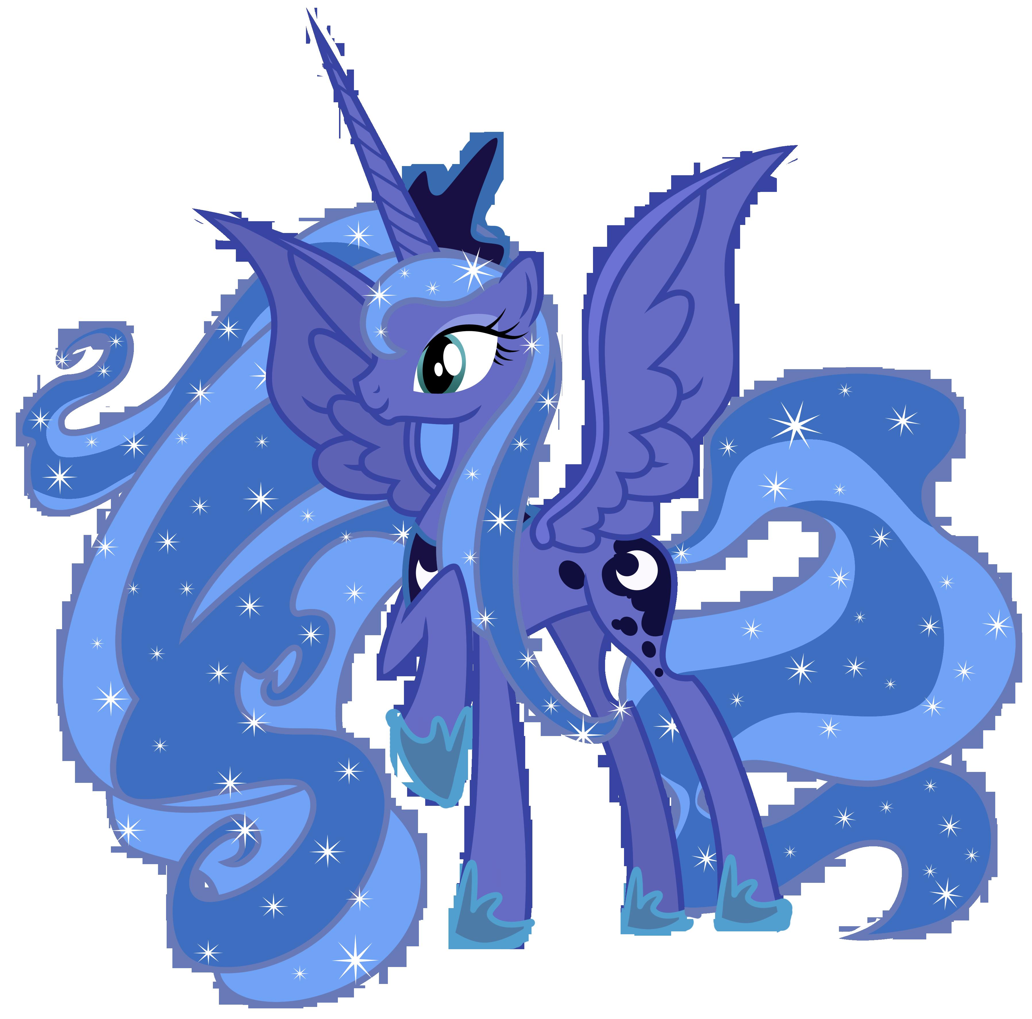 Princess Luna My Little Pony Friendship Is Magic Mlp Princess